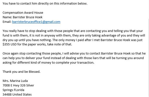spam letter 3