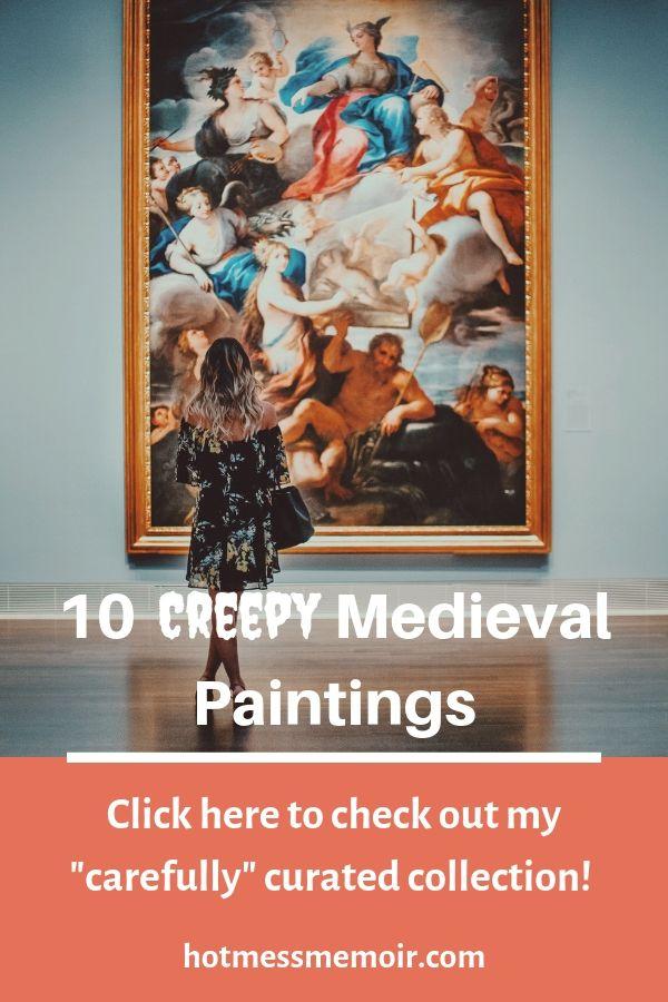 creepy medieval painting