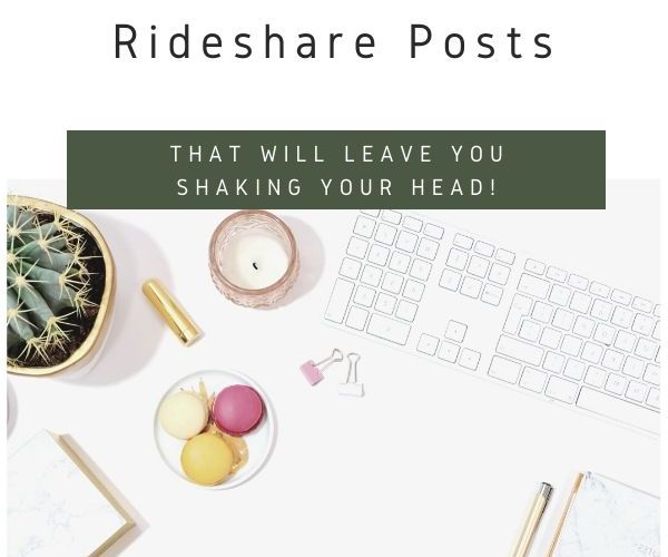 7 Craig's List Rideshare Posts