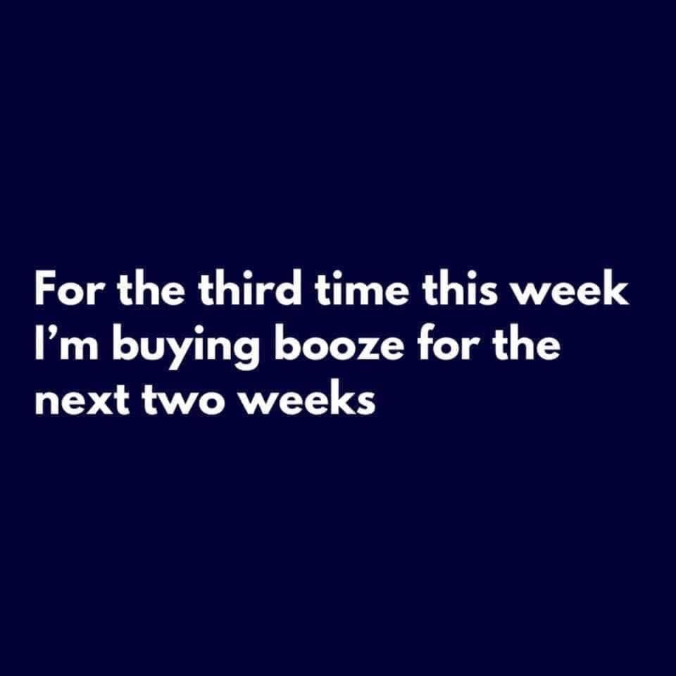 buying booze