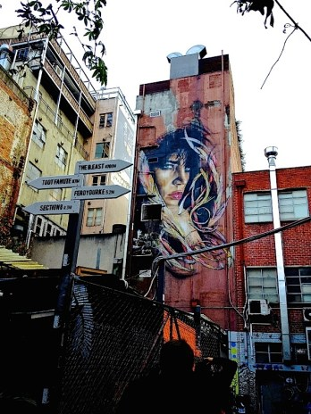 Rone overlooks Section 8 next to Cookie Rooftop