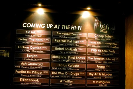 Bonjah headline Hi Fi Bar, Melbourne. Photo credit: Dan Wilkinson (Hot & Delicious Group).