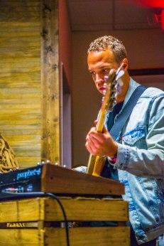 Matt Gresham at Monkies Vintage #SXSW #SXSW2016 Photos by Dan Wilkinson (Hot & Delicious: Rocks The Planet). info@hotndelicious.com https://hotndelicious.com/