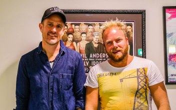 Wil Anderson joins Dan on the Hot & Delicious: Rocks The Planet podcast in Los Angeles