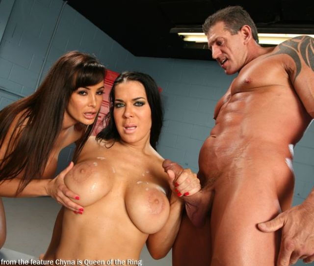 Lisa Ann And Chyna Getting Fucked
