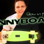 GLOW in the dark Pennyboard – Safety and Coolness Upgrade