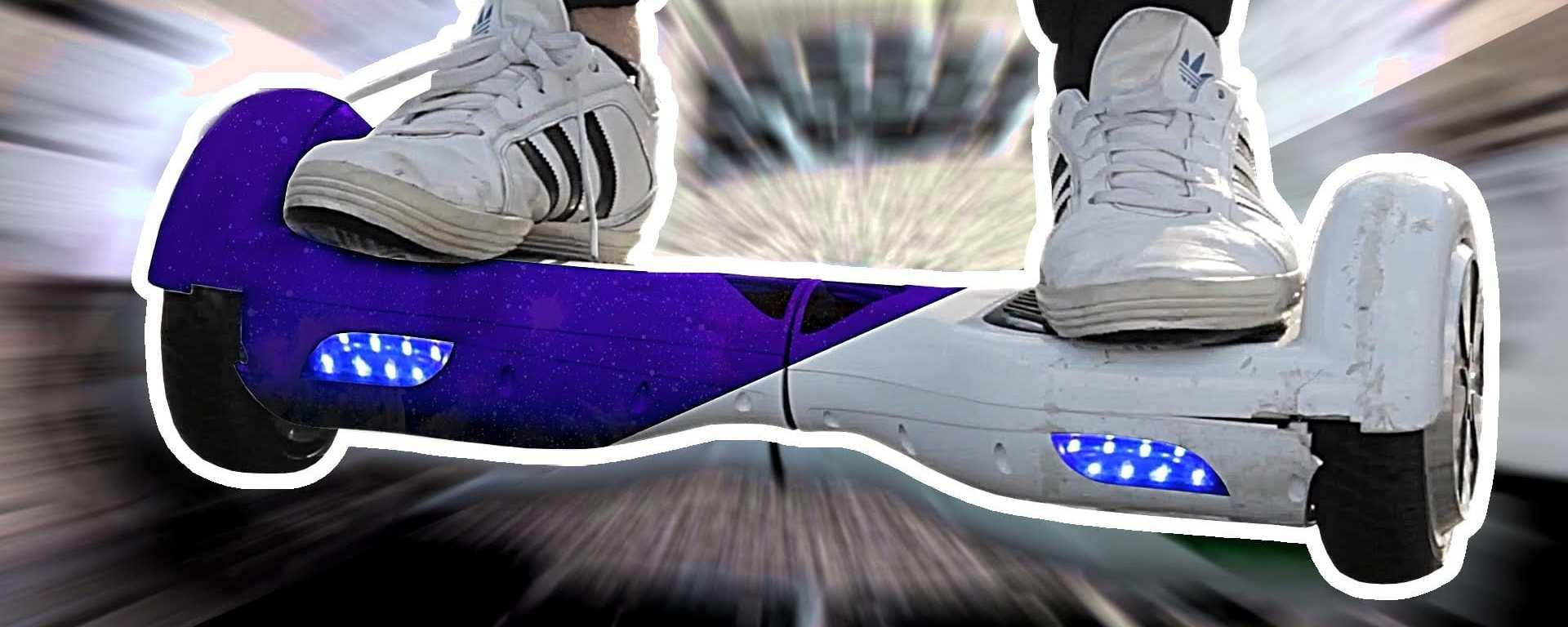 Hoverboard lackieren