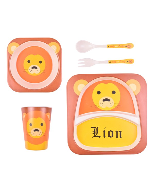 Children's Dining Set (Lion)