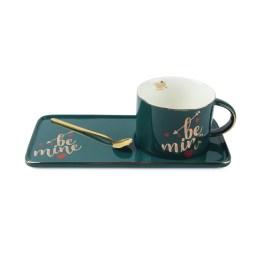 Green Be Mine Mug with Tray