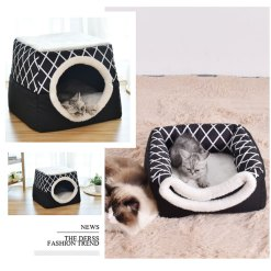 collapsible cat house