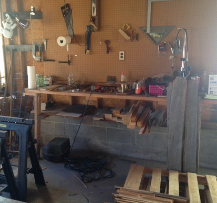 Garage Work Space