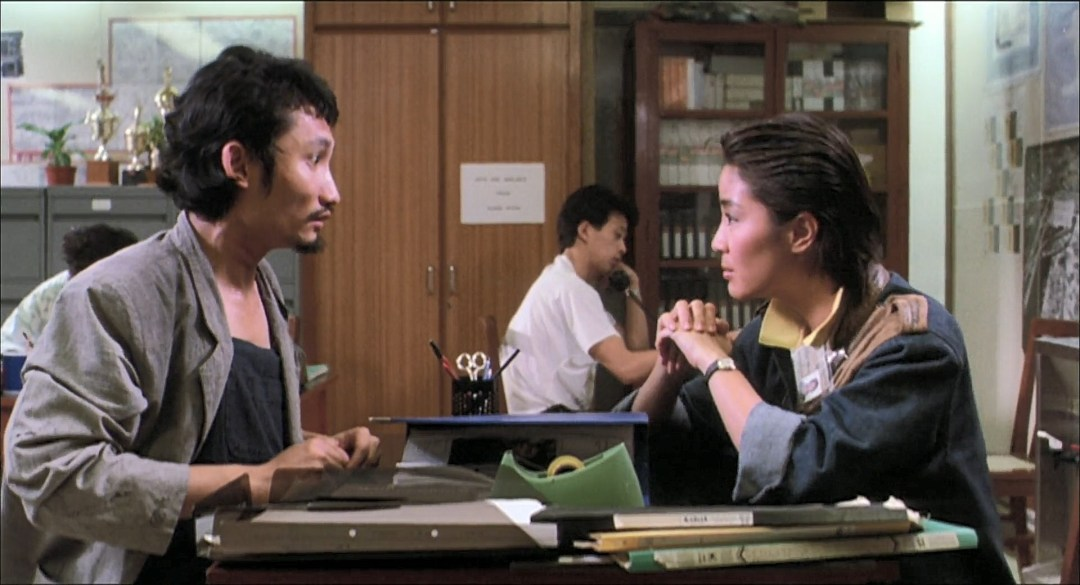 Michelle Yeoh e Tsui Hark em Yes, Madam.