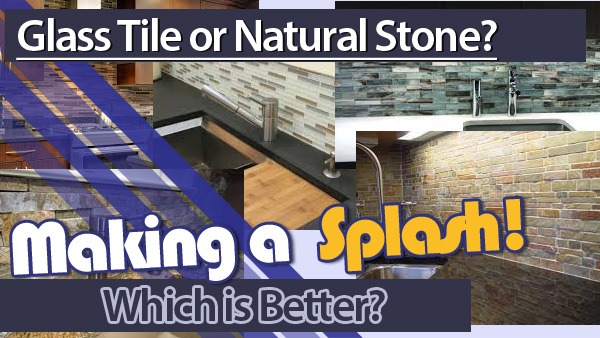 Kitchen Splash Back, Glass or Stone