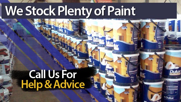 We Stock Lots of Paint