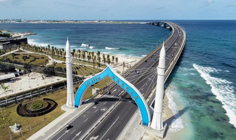 没本事还学中国,莫迪想建桥控制马尔代夫,世界却瞧不上印度