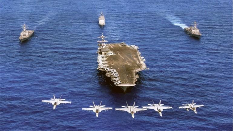 美军军事计划提前曝光,新舰队或将入驻印太,中国解放军严阵以待