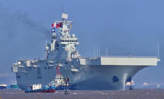中国075两栖攻击舰首舰海试,第二批改进余地还能有多大?