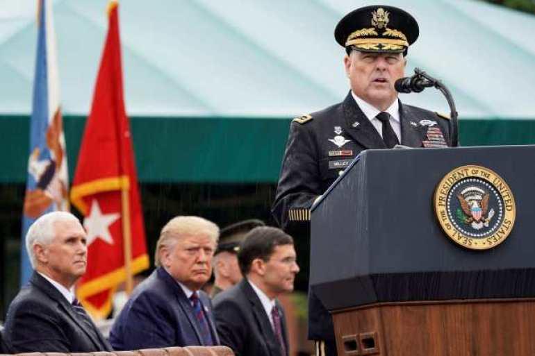特朗普成光杆司令?为确保拜登顺利就职,美军高层称部队随时准备