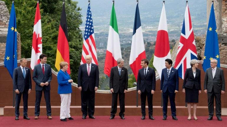 G7 参加 国