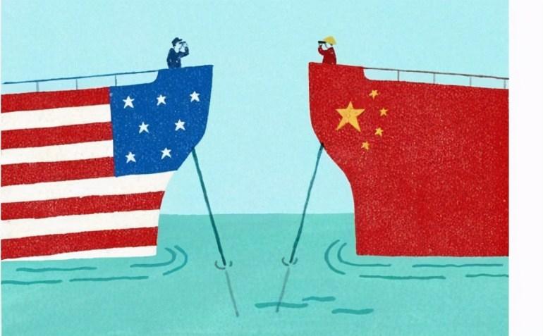 推动中美关系走向彻底对抗?奉劝美国一些人,不要执念太重了