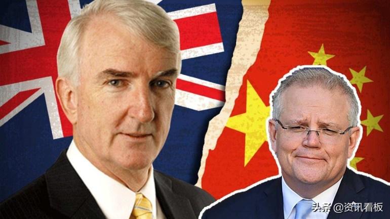 """澳大利亚要分裂了?铁杆反华分子倒戈,要求莫里森不要""""乱说话"""""""