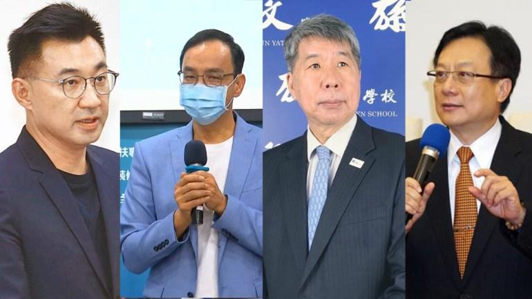 """台媒:张亚中民调超过江启臣""""弃江保朱""""在蓝营基层发酵"""