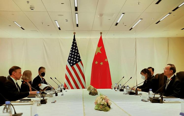 """美国将军事""""保卫台湾""""?中美会晤刚结束,沙利文就对中国放狠话"""