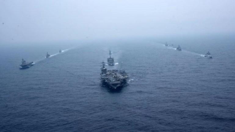 """美海军作战部长放话:应对中国要靠""""伙伴"""",还直接点名印度"""