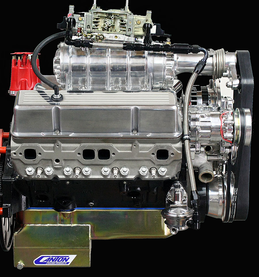 Roots Supercharger Carbs: Hot Rod Engine Tech Blown Hi-Torque E85 Chevy Small Block