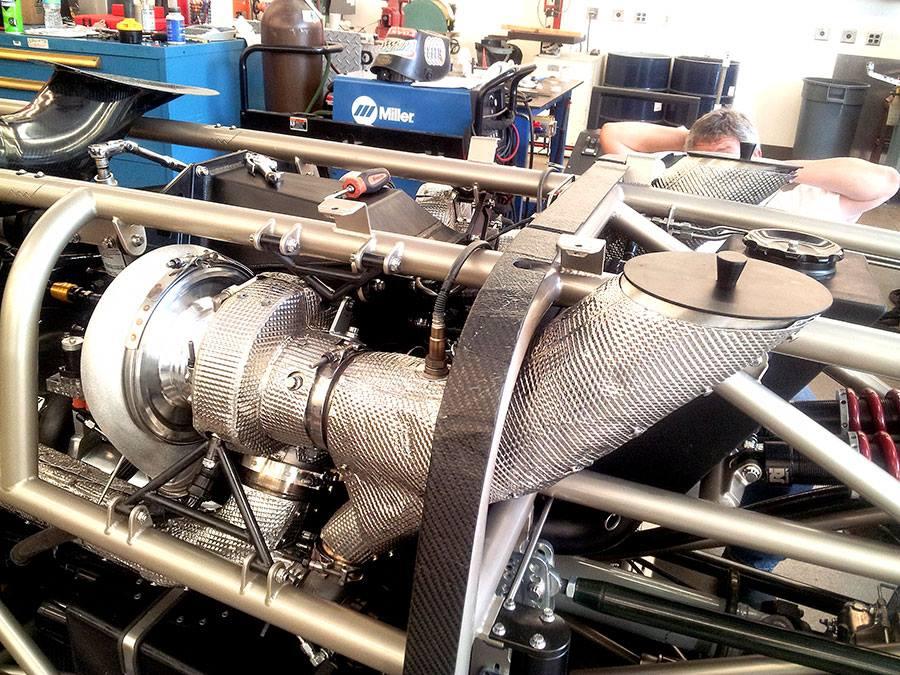 turbocharger heat shielding