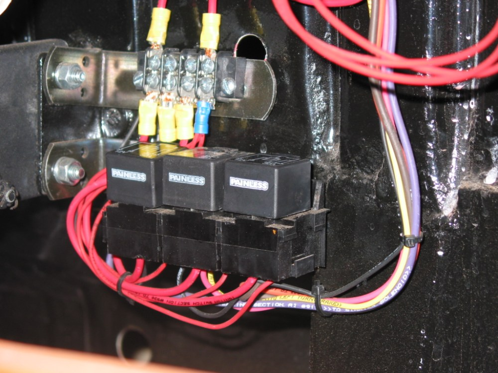 medium resolution of painless performance harness installation in 39 ford hotrod hotline painless fuse box install