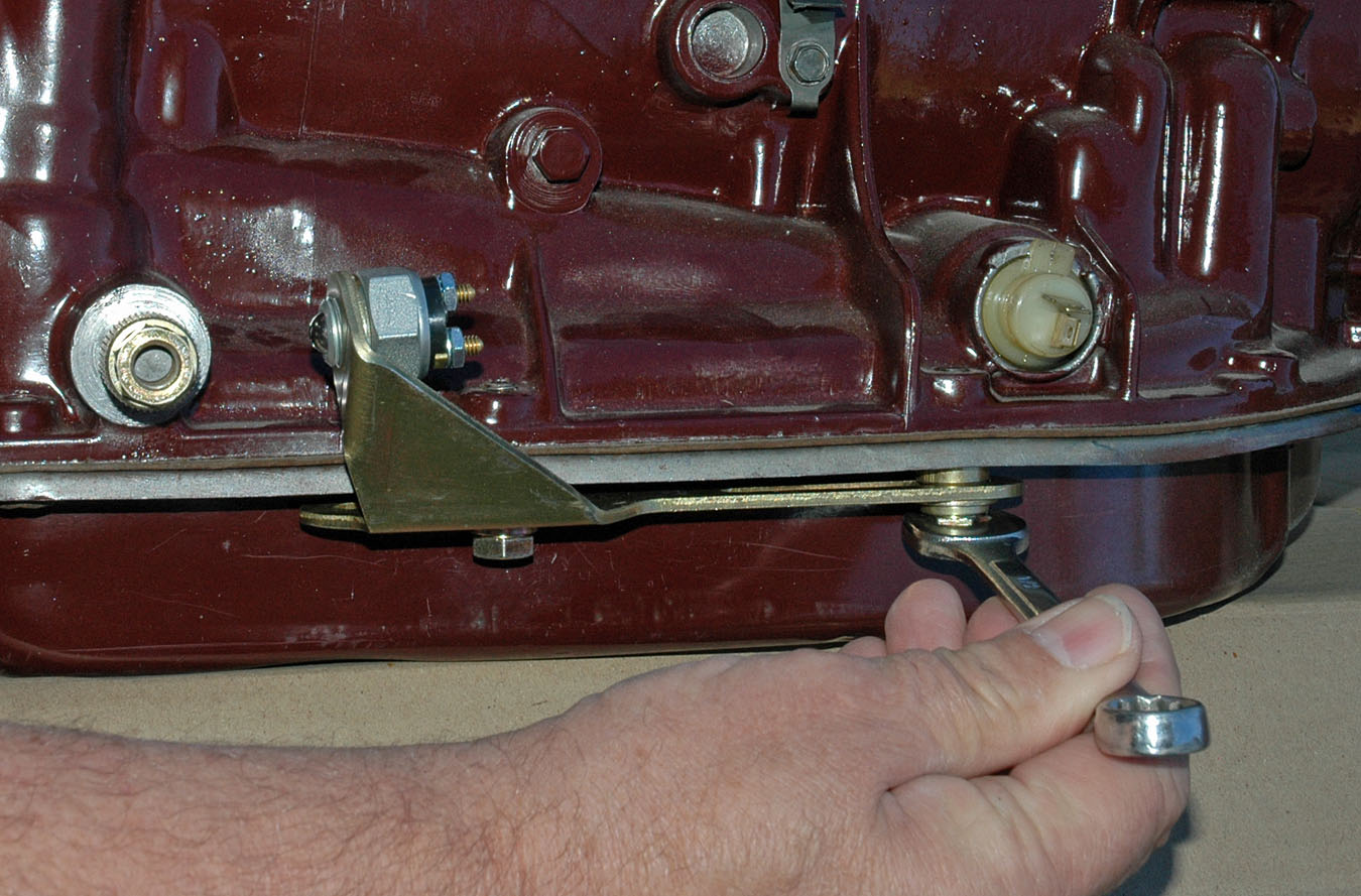 Th400 Wiring Diagram Installing A Hybrid Shifter Story Amp Photos By Jim Clark