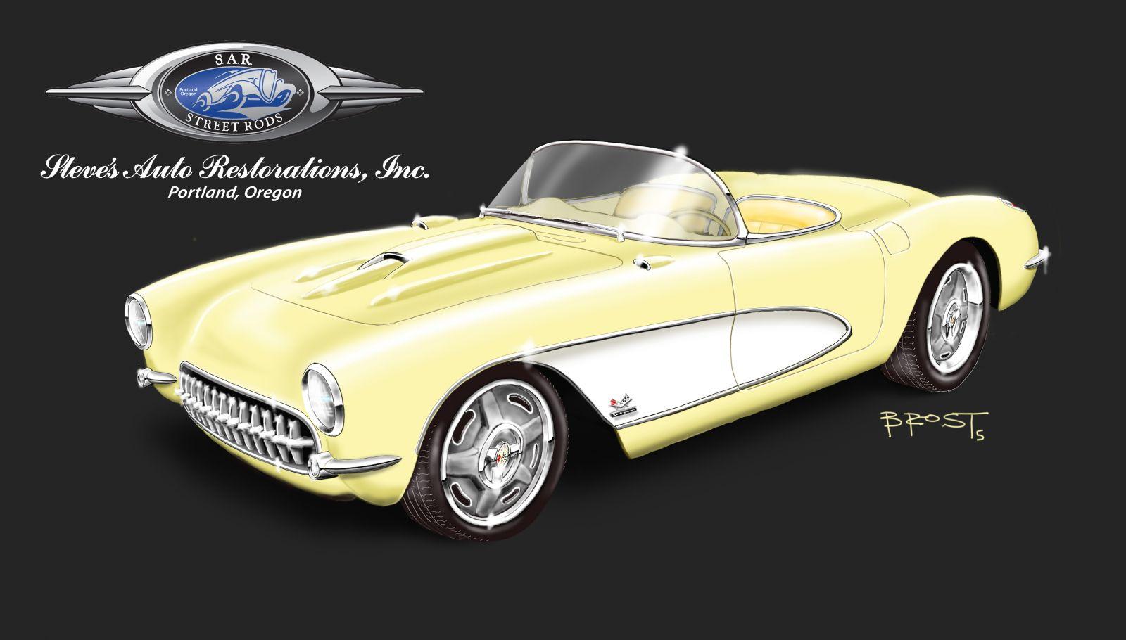 1957 Custom Corvette Under Construction  Hotrod Hotline