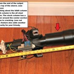 G Body Steering Column Wiring Diagram Spst Relay Ididit A Universal Hot Rod Regal