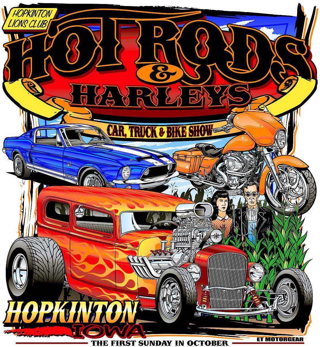 Home  Hot Rods and Harleys Car Show