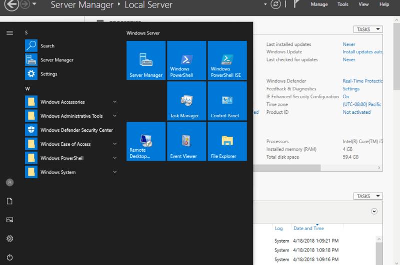 Cai dat Windows Server 2019