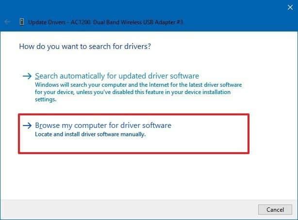 Cài đặt Driver cho Windows 10