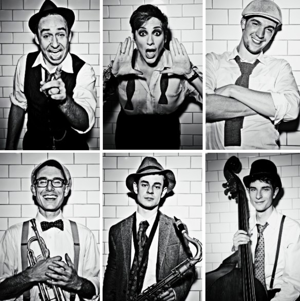 Hot Sardines, as photographed by Harry Fellows for Collective Magazine