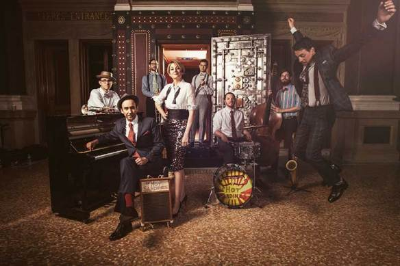 The Hot Sardines by LeAnn Mueller (c) 2014