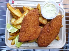 PANKO COD FISH & CHIPS