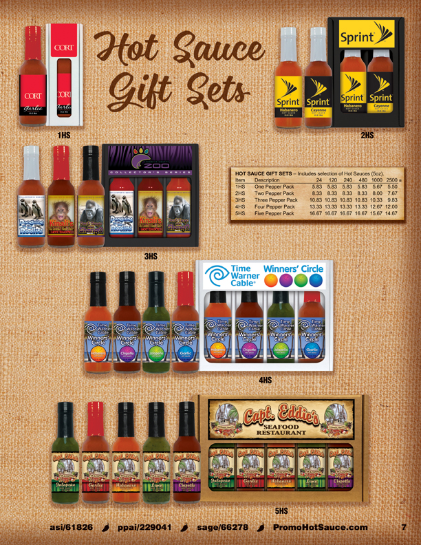 Page 7 - Hot Sauce Gift Sets