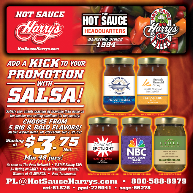 Add KICK to your promotion with SALSA