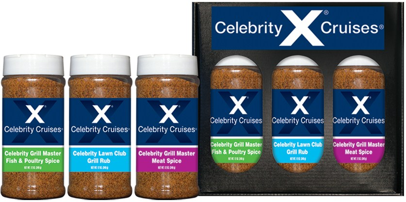 3R16 - Three Pack Spice Set - Hospitality - Celebrity Cruises