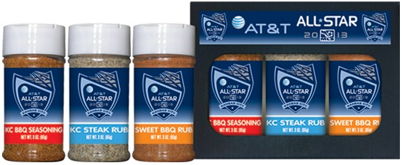 3R3 - 3pk 3oz Rub Set - AT&T All Star