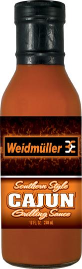 GS12CA - Cajun Grilling Sauce (12oz) - Weidmuller