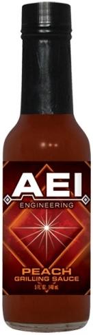 GS5P - Peach Grilling Sauce (5oz) - AEI Engineering