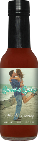 GS5P - Peach Grilling Sauce (5oz) - Wedding Favor