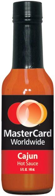 HS5CA - Cajun Hot Sauce (5oz) - Financial - MasterCard