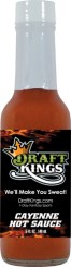 HS5C - Cayenne Hot Sauce (5oz) - Draft Kings