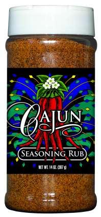 R16C - Cajun Dry Rub (pint)